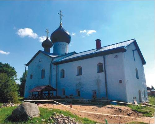 Техническое обследование здания монастыря