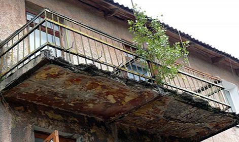 Обследование балконов и лоджий